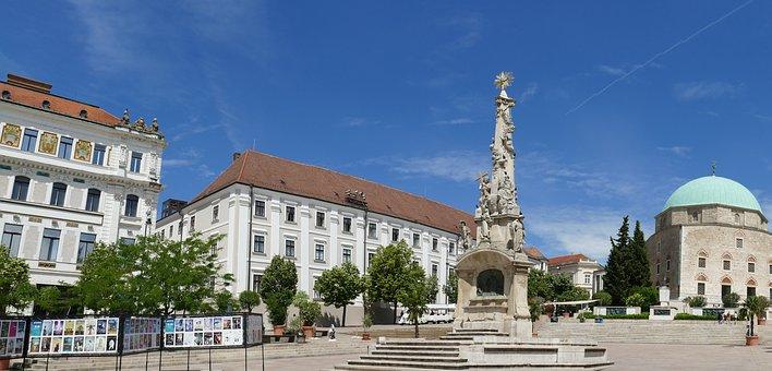 Pécs, Hungary, City, Five Churches, Building