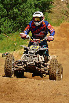 Motocross, Quad, Atv, Quad Race, Enduro