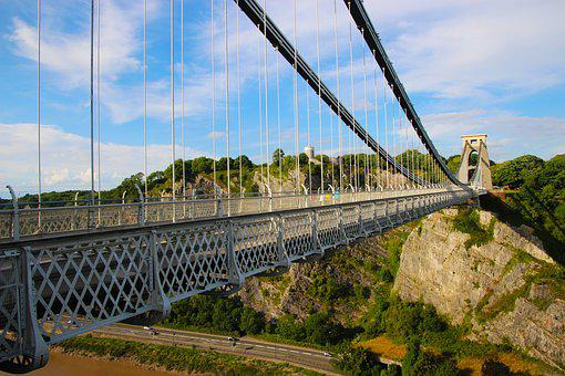 Clifton Suspension Bridge, Bridge, Span, Suspension