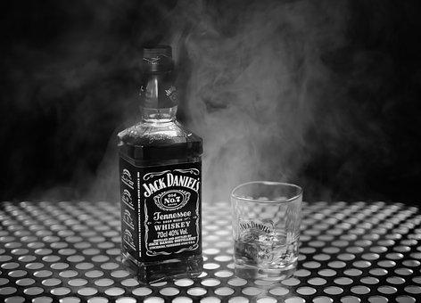 Fog, Whisky, Jack Daniels, Whiskey, Alcoholics, Brandy