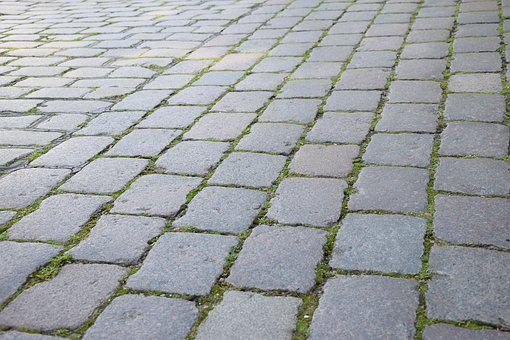 Road, Paving Stone, Background, Stones, Away