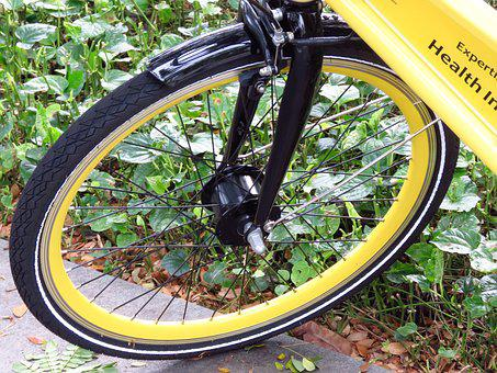 Bicycle, Wheel, Yellow, Bike, Biking, Sport