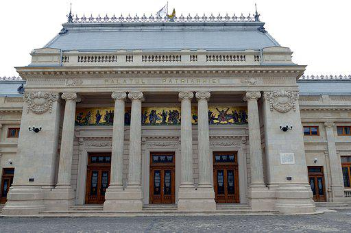 Bucharest, Romania, Capital, Church, Building