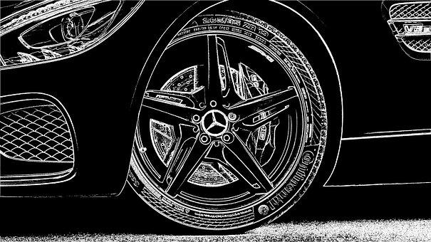 Wheel, Car, Vehicle, Auto, Transportation, Automobile