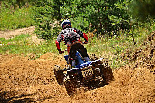 Quad, Motocross, Atv, Quad Race, Enduro, Cross