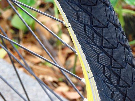 Bicycle, Tyre, Macro, Close, Bike, Wheel, Tire, Cycle