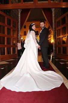 Wedding, Couple, Church, Romance, Grooms, Marriage