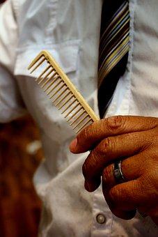 Barber, Comb, Salon, Hair, Hairdresser, Haircut