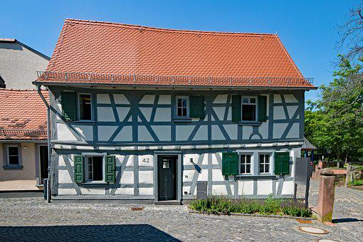 Bad Soden, Taunus, Hesse, Germany, Old Town