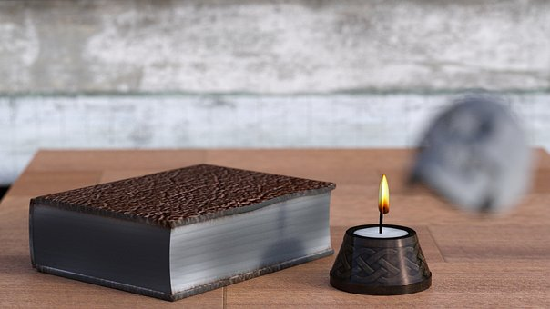 Books, Candle, Information, Browse, Library, Book