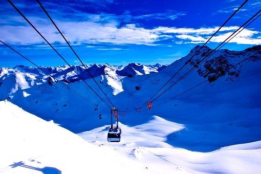 Switzerland, Ski Lift, Resort, Sports, Leisure