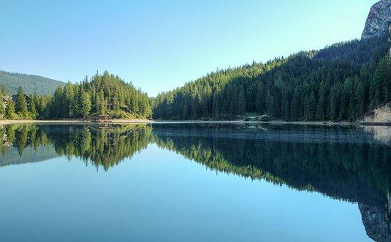 Lake, Bergsee, Landscape, Nature, Mirroring