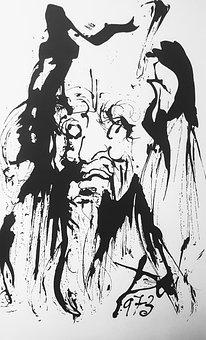 Dali, Painting, Abstract