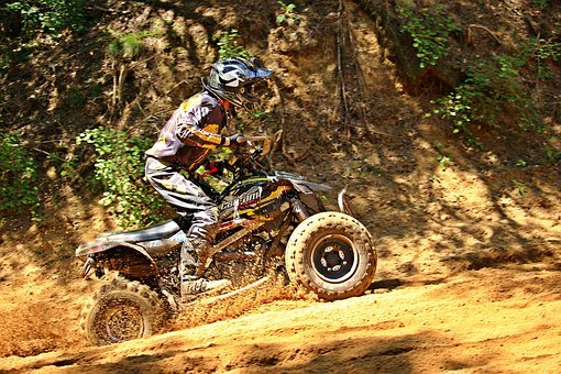 Quad, Motorsport, Motocross, Cross, Motorcycle