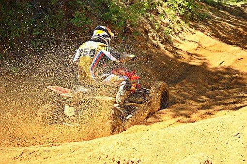 Quad, Enduro, Quad Race, Motocross, Race