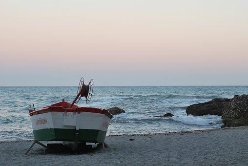 Boat, Fishing, Medeterrainan, Fishing Boat, Sea, Water