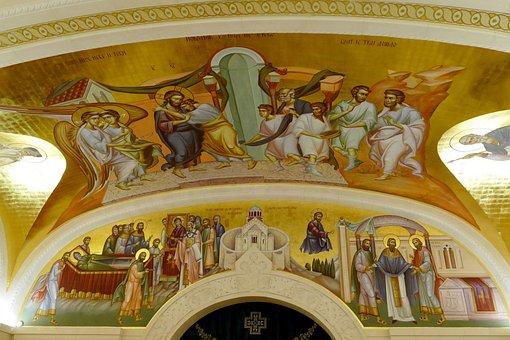 Belgrade, Serbia, Capital, Image, Fresco