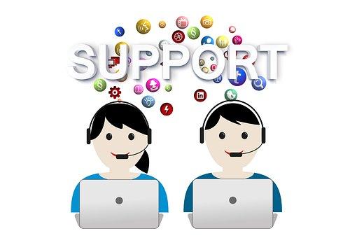 Support, Help, Call Center, Headset, Service