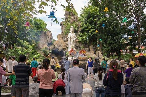 Temple, Hochiminh City, Buddha