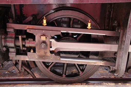 Train Wheel, Railway, Train, Transport, Wheel, Rail