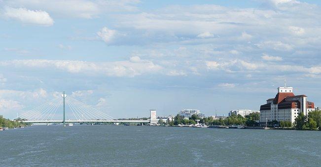 Vienna, Austria, Architecture, View, Panorama, Building