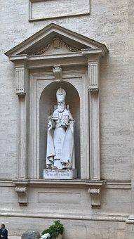 Vatican, Statue, Virgin Mary, Rome, Vatican Museums