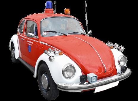 Vw 1302, Beetle, Fire, Vehicles, Fire Truck