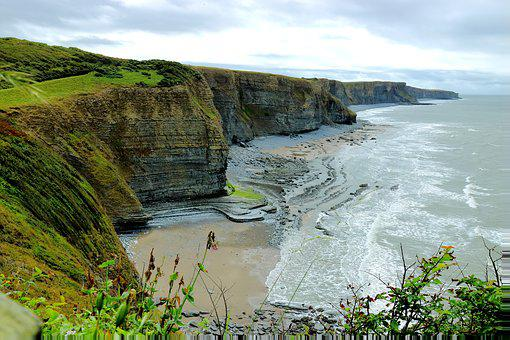 Landscape, Rock, Sky, Coast, Cliff, Tourism, Water