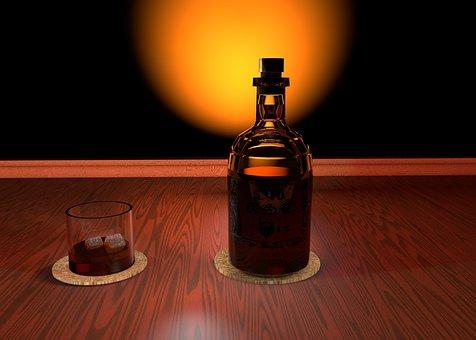Whisky, Glass, Alcohol, Drink, Brandy, Whiskey, Bottle