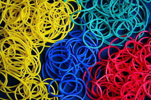 Rubber Rings, Rubber, Annular, Keep Together