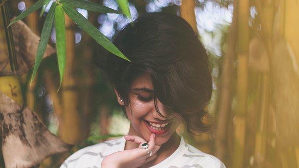 Girl, Assam, Assamese, Beautiful, Green, Bamboo
