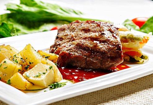 Beef, Steak, Meat, Food, Tenderloin, Grill, Grilled