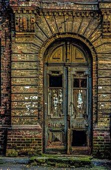 Door, Antiquity, Stina, House, Broken, Inscriptions