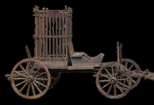 Cart, Cage Of Fools, Cage, Train Car, Coach