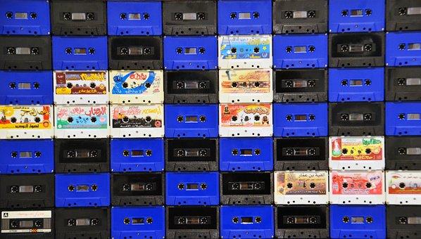 Music Cassettes, Cassettes, Analog, Vintage