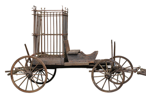 Cart, Cage Of Fools, Cage, Train Car, Coach