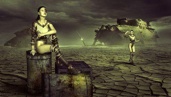 Fantasy, Forward, End Time, Destruction, Infested