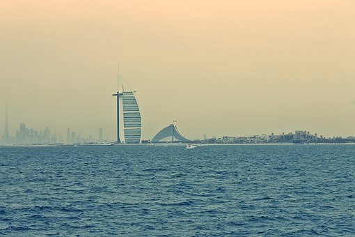 Burj Al Arab, Dubai, Emirates, Building, Architecture
