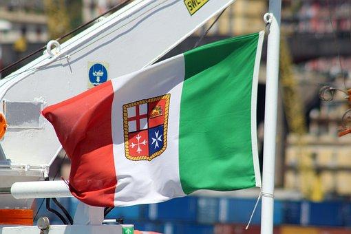 Flag, Fleg, Italy, Salerno