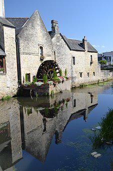 Medieval, Bayeux, France, Old Town, Historic Buildings