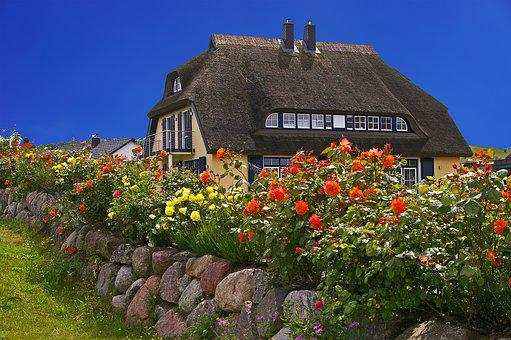 Rügen, Island, Thatched, Rügen Island, Baltic Sea, Home