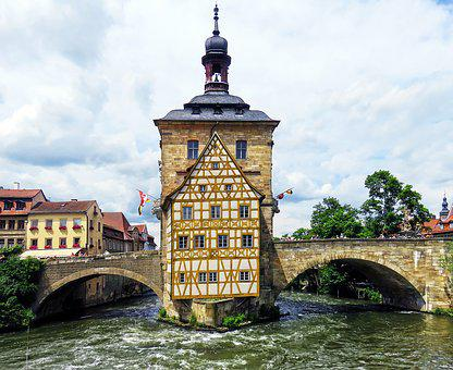 Town Hall, Old Town Hall, Bamberg, Historically