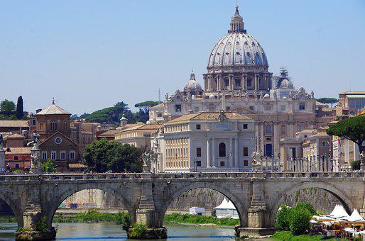 Italy, Rome, Vatican, Saint Pierre, Cathedral, Dome