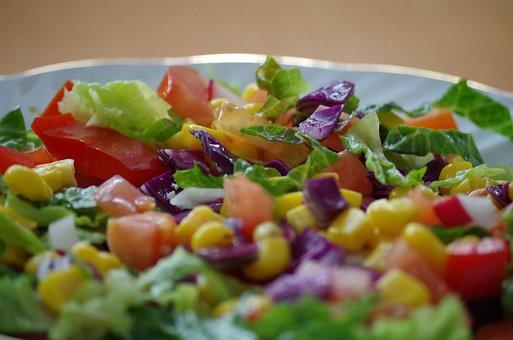 Vegetables, Plate, Healthy, Meal, Vitamins