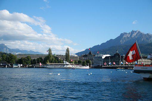 Zurich Switzerland, Lake Zurich