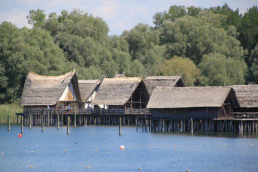 Stilt Houses, Archaeological Open Air Museum, Uhldingen