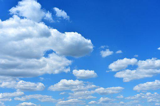 Sky, Clouds, Summer, Blue, Sunny, Nature