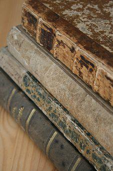 Book Stack, Antiquariat, Old Books