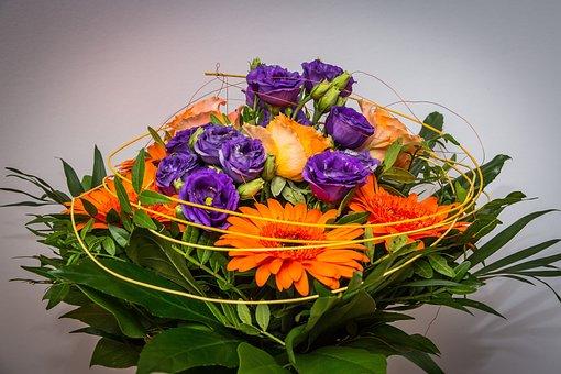 Bouquet, Flowers, Bouquet Of Flowers, Decoration
