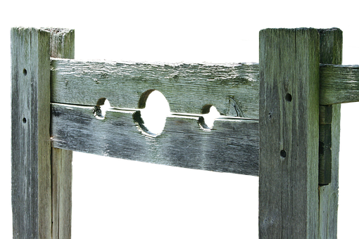Pillory, Device, Penalty, Caught, Old, Middle Ages